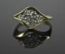 Pierścionek złoty z brylantami  pierścionek z brylantami,pierścionek ze złota