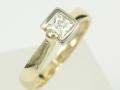 Perścionek złoty - Model PZ91 Pierścionek złoty, pierścionek z cyrkoniami, pierścionek na prezent, pierścionek zaręczynowy, pierścionek urodzinowy, pierścionek z okazji, tani pierścionek