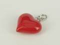 Charms srebrny serce -  Model YZW02 prezent na urodziny, prezent na walentynki, prezent z okazji