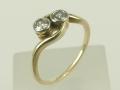 Pierścionek z brylantami  piękny pierścionek,pierścionek zaręczynowy,pierścionek z brylantami